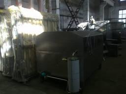 Жиротопка для плавки 20 кг блоков на 1000л из нерж. стали
