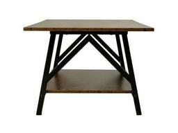 Журнальный стол Loft для офиса из натурального дерева