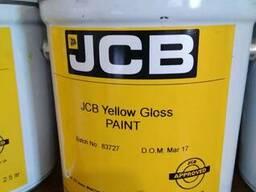Жёлтая краска оригинал JCB 2,5л