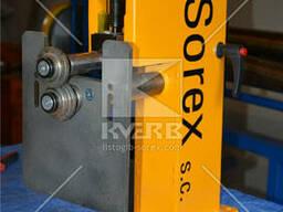 Зиговочный станок ручной для обработки кромок Sorex CW 50/20