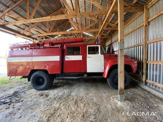 Машина пожарная Зил 130