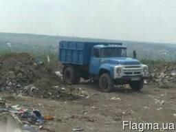 Зил вывоз мусора