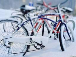 Зимнее хранение велосипеда - фото 1