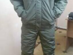 Зимний костюм охранника