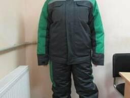 "Зимняя куртка и полукомбинезон на заказ ""Грона"""