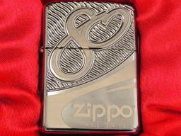 ЗажигалкаZippo Lighter 80th Anniversary 83571 Limited Editi