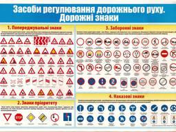 Знаки дорожні, таблички, вказівники, інформаційні щити. Виробник