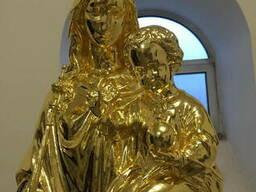 Золочение сусальным золотом