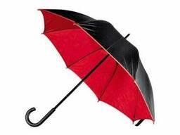 Зонт-трость Кежуал Красный
