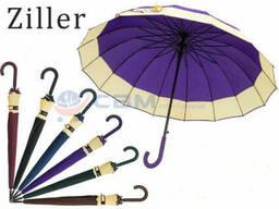 Зонт-трость полуавтомат Ziller ZL-402