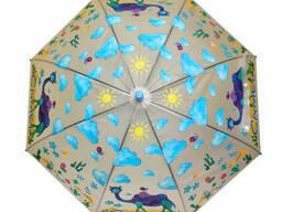 Зонтик детский трость (Blue) (MK 3877-2(Blue))