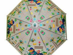 Зонтик детский трость (Green) (MK 3877-2(Green))