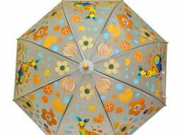 Зонтик детский трость (Orange) (MK 3877-2(Orange))