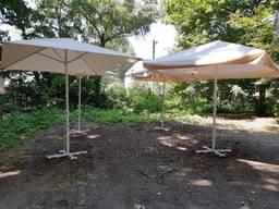 Зонты 4x4 кафе, тросовые, торговые