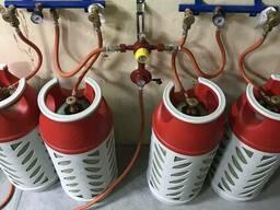 Zstroy Рампа пропанова на 4 балони 6кг/год 50 mbar автоматична (комплект) 0792