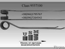 Зуб пружинний валкообразователя Claas 9557100