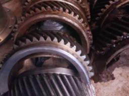 Зубчатое колесо разъемное 0416 тип двигателя Шкода 160