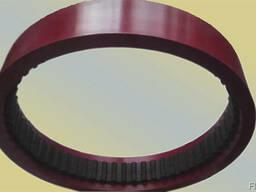 Зубчатый ремень протяжки пленки 202L 75 резиновая основа 7mm