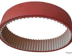 Зубчатый ремень протяжки упаковочной пленки 50 Т10 630 7 мм.