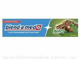 Зубная паста Blend-a-med с натуральными экстрактами Био фтор Кора дуба - 50 мл.