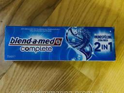 Зубная паста Блендамед комплекс 2 в 1 с ополаскивателем 75 мл Германия