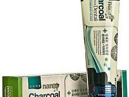 Зубная паста с серебром и бамбуковым углем HANIL NANO Charco