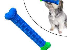 Зубная щетка игрушка-кость для чистки зубов у собак, Зоотовары