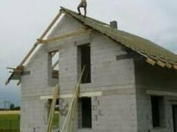 Зведення та ремонт дахів, утеплення фасадів. Бригада. Лубни.