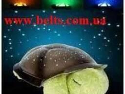 Звездный светильник проектор «Черепаха» музыкальный