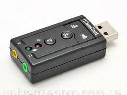 Внешняя звуковая карта USB 7. 1 Channel Sound