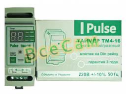 Таймер цифровой многофунциональный ТМ4-16А (Din рейка)