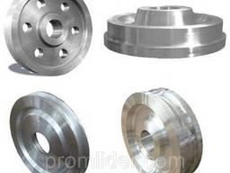 Изготовление колес, роликов из стали